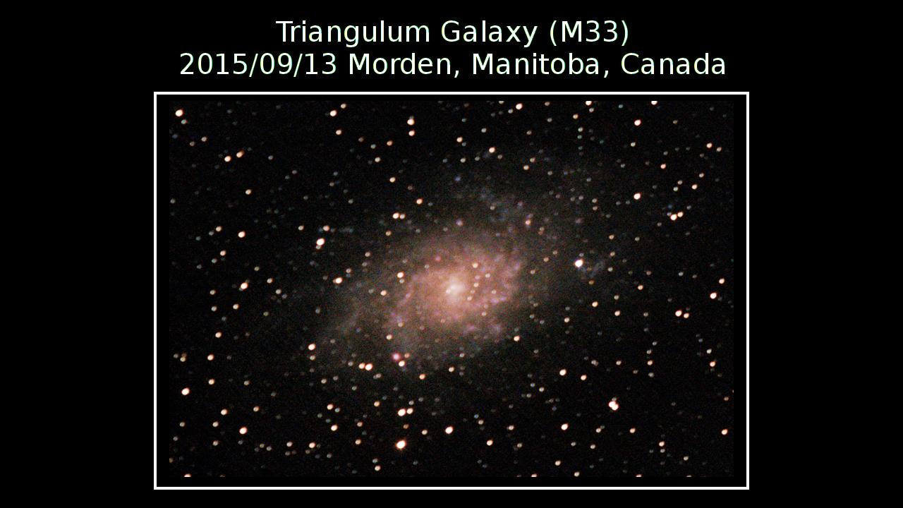 PNG M33 Poster